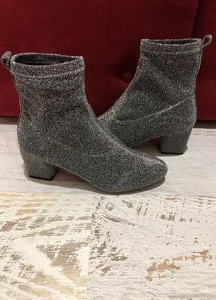 Ботинки із текстилю новые р. 39
