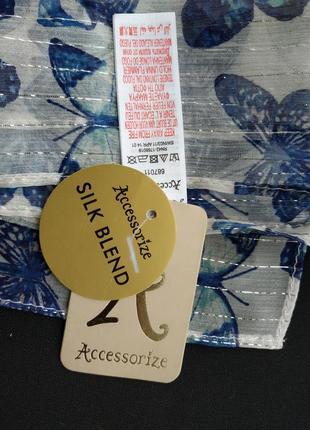 Нежный шелковый шарфик accessorize, 160×25 см, новый.
