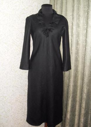 Стильное элегантное платье из  натурального материала лен boden