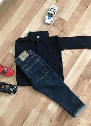 Джинсы zara для маленьких модников