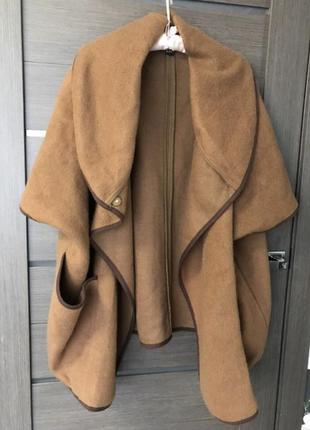Пальто пончо кардиган куртка тренч