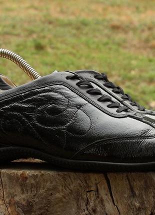Женские кожаные кеды / туфли / мокасины hassia, размер 40