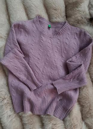 Мягенький фирменный шерстяной свитер 🔥