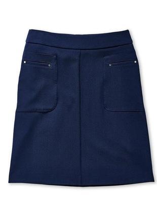 Темно-синяя юбка с карманами tcm tchibo