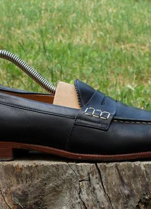 Кожаные женские туфли лоферы church's, размер 40 - 41