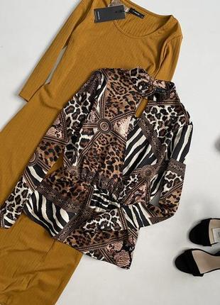 Идеальная блуза в анималистический принт quiz
