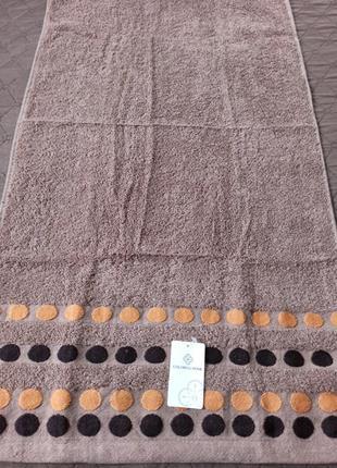 Махровое лицевое полотенце 100*50 см
