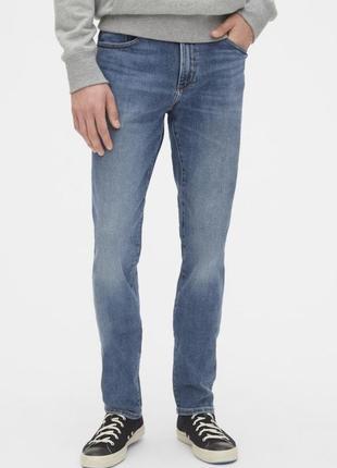 Мужские джинсы gap skinny stretch indigo размер 30*30