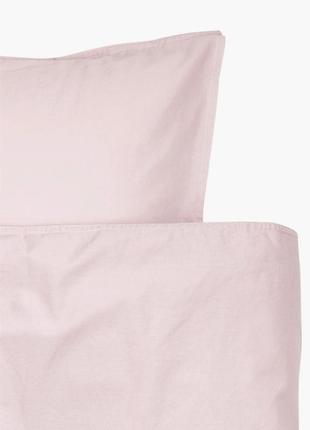 Двуспальный комплект постельного белья хлопок бренд h&m швеция