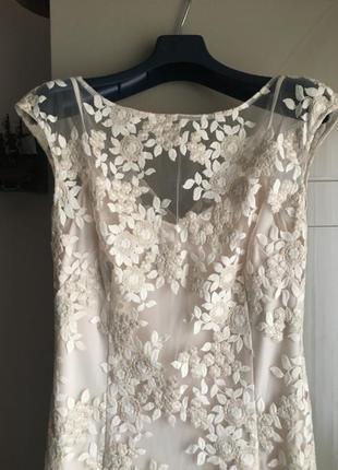 Вечернее платье элитного бренда ralph lauren