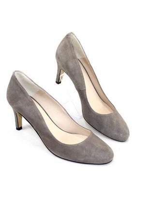 100% кожа! замшевые туфли minelli