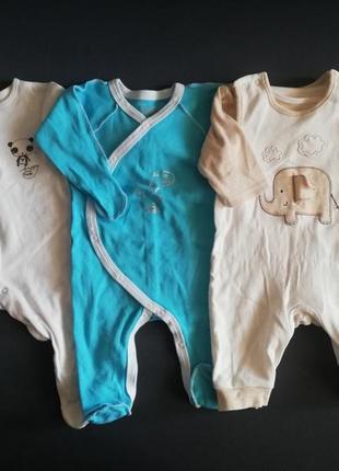 Человечки/слипы для новорожденного