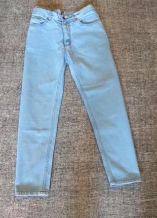 Супер модные джинсы мом с высокой посадкой #бойфренд#плотные.