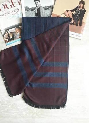 Мужской шарф на 2 строны steel&jelly