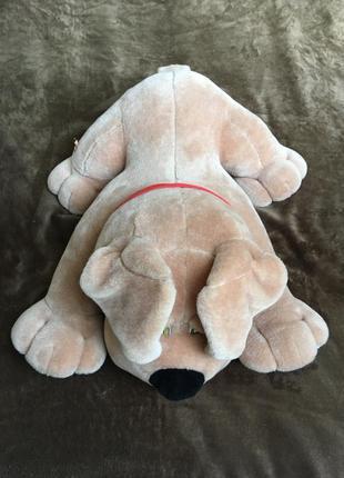 Игрушка-подушка в виде собаки для детей и взрослых. размеры: 70/54 см.