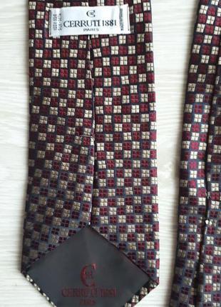 Галстук cerrutti / шелковый галстук