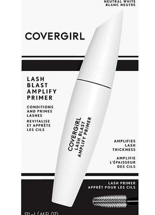 Covergirl lashblast amplify primer тушь - праймер для ресниц  / база под тушь