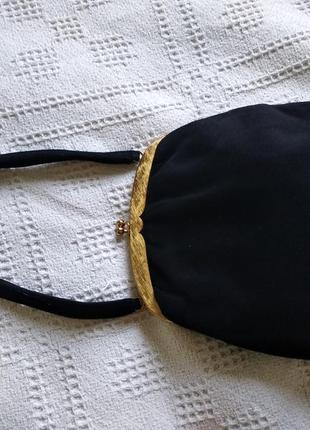Вінтажна замшева сумка