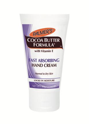"""Крем для рук palmer's """"масло какао"""" быстрое впитывание"""