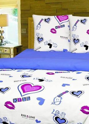 """Комплект постельного белья """"поцелуи"""" тиротекс"""