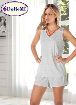 Піжама/пижама/комплект: майка и шорты