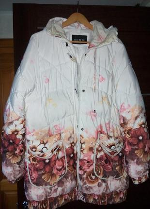 Куртка на холлофайбере теплая (л-хл)