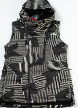 North face women's niche 550 goose down hooded vest жилетка
