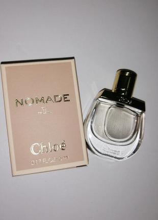Chloe nomade парфюмированная вода 5 мл, пробник