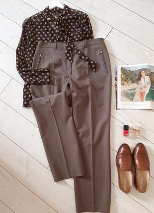 Brax  лаконичные стильные брюки шерсть ,идеальные..# 151