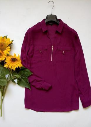 Лёгкая блуза с замочком спереди 14