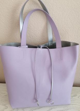 Двостороння сумка-шопер