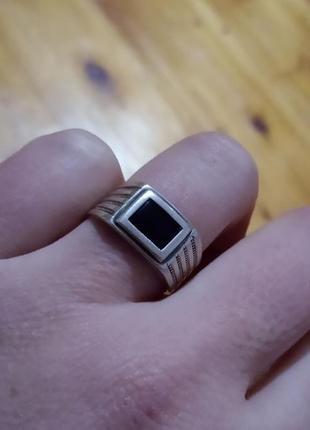 Серебро 925 проба . колечко кольцо перстень каблучка . размер 17 вес 3,21 грамм