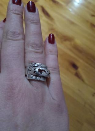 Серебро 925 проба . колечко кольцо перстень каблучка . размер 17 вес 4,01 грамм