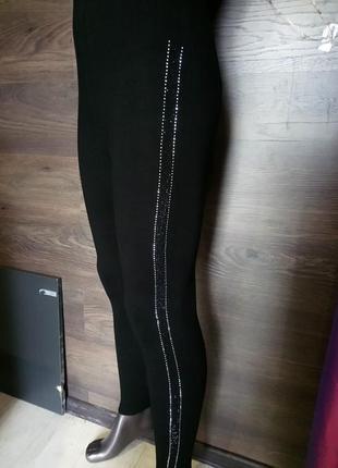 Леггинсы термо термолеггинсы термолосины лосины имитация брюк брюки термо