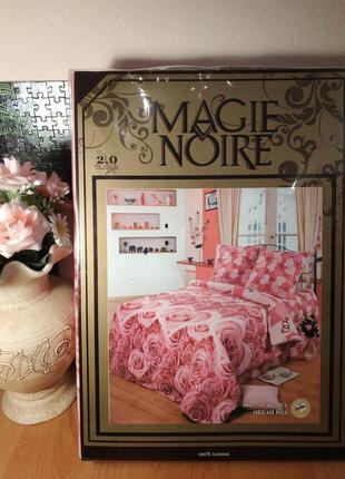 """Шикарное постельное белье""""magie noire"""" 100% хлопок"""