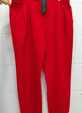 Шикарные креповые прямые брюки
