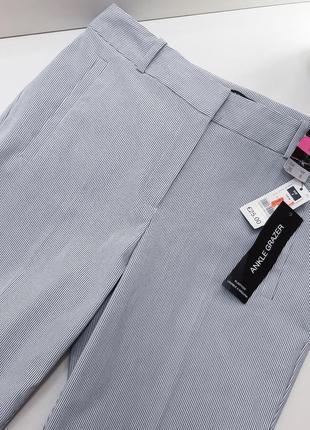 Dunnes брюки в полоску
