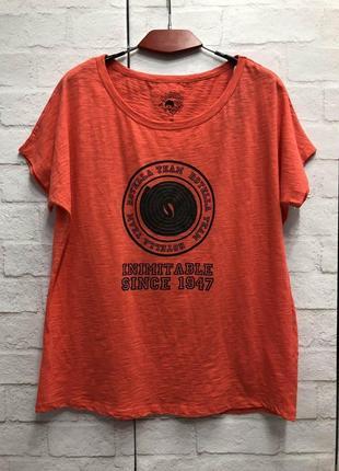 Яркая футболка  бренда cache  cache (2107)