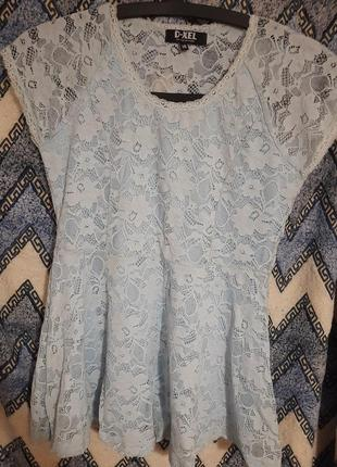 Блузка з баскою