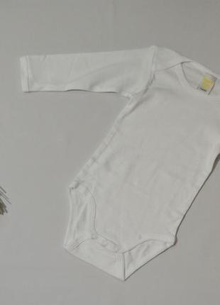 Бодик длинный рукав размер 74-80 см impidimpi германия