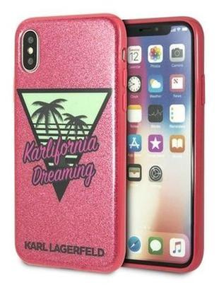 Karl lagerfeld iphone x / xs оригинал! новый брендовый чехол