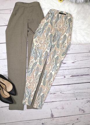 Идеальные брюки в орнамент от zara