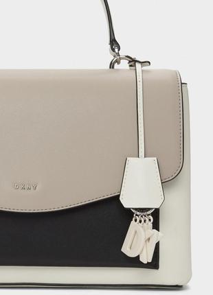 Dkny женская кожаная сумочка