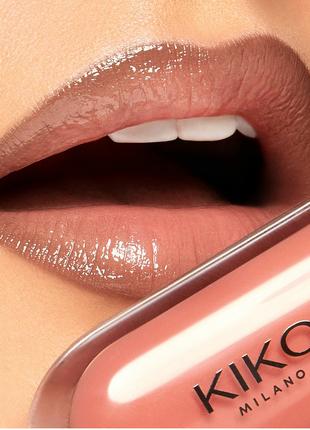Блеск для губ kiko 3d hydra lipgloss, кико