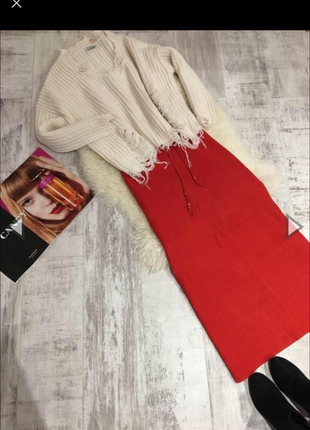 Красная длинная юбка 🌹всё от 30гр и ниже) обновляю часто