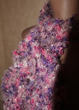 Мягусенький шарфик