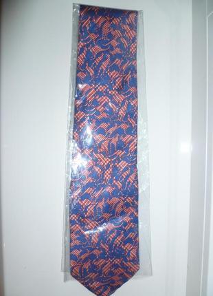 Галстук шёлковый, мужской галстук, с кенгуру, краватка шовкова roxy ties