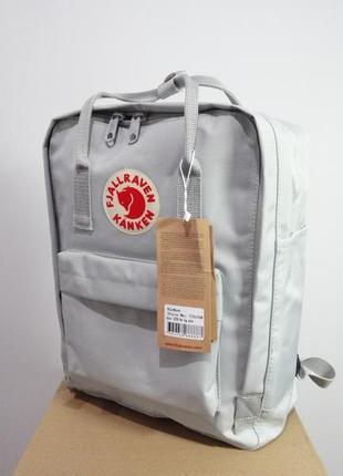 Рюкзак fjallraven kanken светло серый