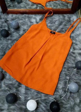 Топ блуза кофточка майка на бретелях f&f