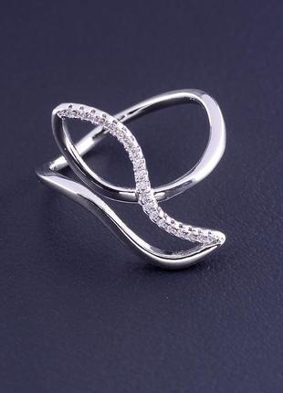 Кольцо 'xuping' фианит (родий) 0877120